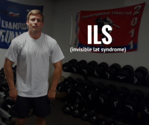 invisible lat syndrome