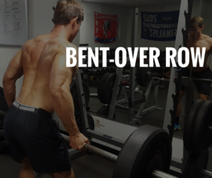 Firefighter Health and Wellness: Bent Over Row