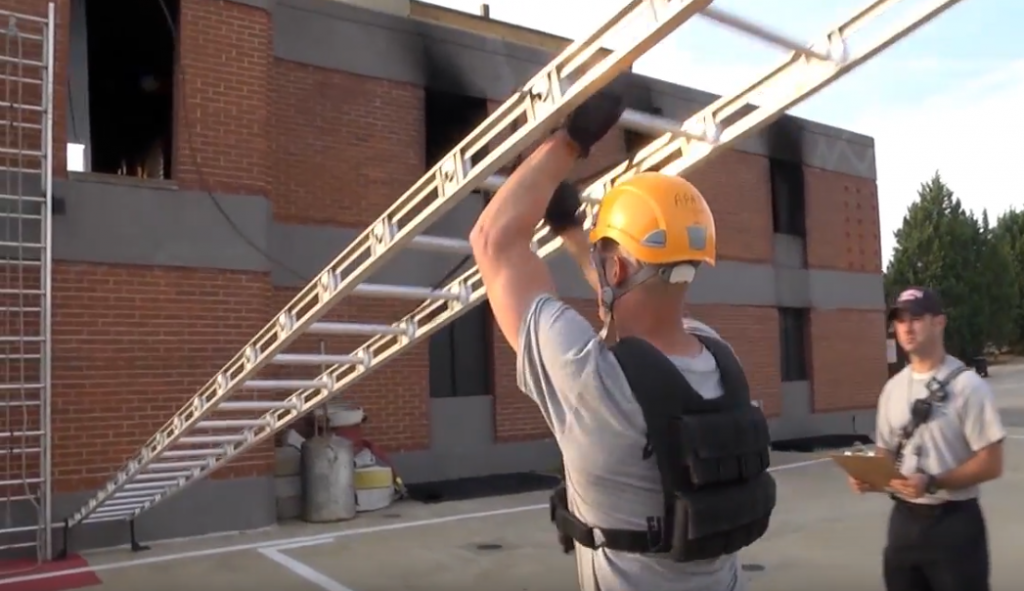 firefighter physical fitness test